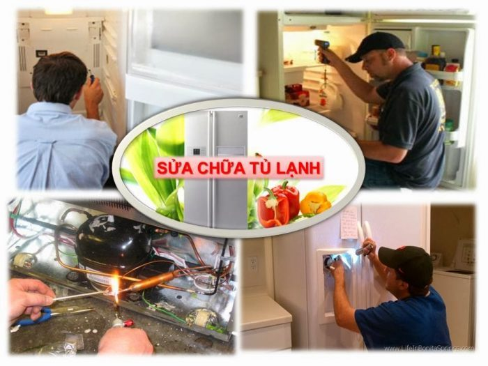 dich vu sua ttu lanh side by side inverter panasonic gia re